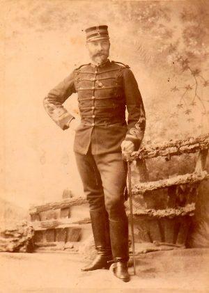 Patrice, quatrième enfant de Charles et d'Henriette. Devenu capitaine de tirailleurs tonkinois, il mourut de ses blessures à Hanoï en 1888.