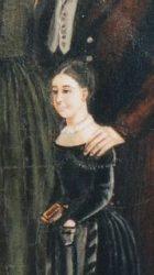Alice, fille unique de Marie Sanlot-Baguenault, première épouse de Charles, à l'âge de sept ans. Devenue comtesse de Lenzbourg, elle décédera en 1889 à Fribourg en Suisse, après avoir donné naissance à cinq enfants.